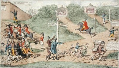 National Pursuits, 1812 by C. Williams - print
