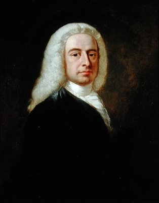 Portrait of Judge Christopher Robinson by Benjamin Wilson - print