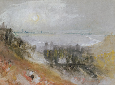 Tancarville, c.1830 by Joseph Mallord William Turner - print
