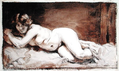 Nude Female Figure, 1905 by Sir William Orpen - print