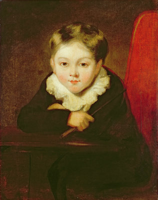 Portrait of the Artist's Son by William Robinson - print