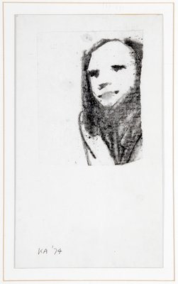 Female Head, 1974 by Kenneth Armitage - print