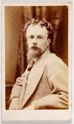 Carte de Visite of John Atkinson Grimshaw by British Photographer - print