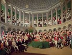 The Irish House of Commons, 1780 Poster Art Print by English School