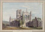 North West View of Kirkstall Abbey, 1777
