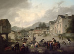 The Market Place, Ambleside, 1817