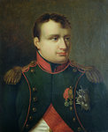Portrait of Napoleon I Poster Art Print by French School