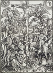 Christ on the Cross Poster Art Print by Martin Schongauer