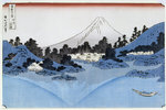 Mount Fuji Reflected in Lake Misaica, from the series '36 Views of Mount Fuji'