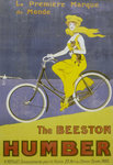 Poster advertising Humber bicycles Poster Art Print by Terrence Nunn