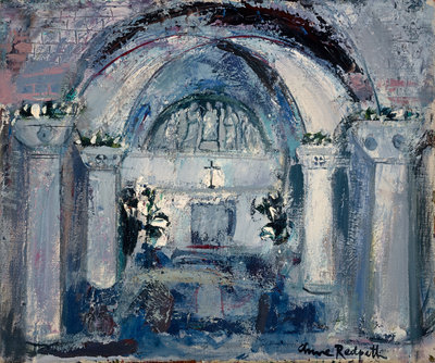 The Crypt, St Marks, Venice Poster Art Print by Anne Redpath