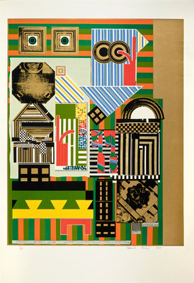 Artificial sun. From As is when Poster Art Print by Eduardo Paolozzi