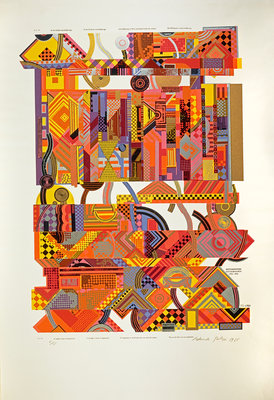 Experience. From As is when Poster Art Print by Eduardo Paolozzi