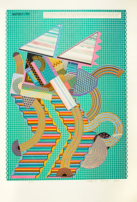 Parrot. From As is when Poster Art Print by Eduardo Paolozzi
