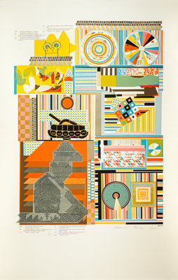 Reality. From As is when Poster Art Print by Eduardo Paolozzi