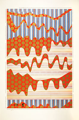 The Spirir of the Snake. From As is when Poster Art Print by Eduardo Paolozzi