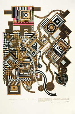 Tortured Life. From As is when Poster Art Print by Eduardo Paolozzi