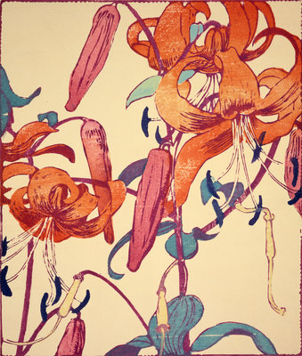 Tiger Lilies Poster Art Print by Mabel Royds
