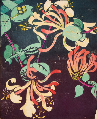 Honeysuckle Poster Art Print by Mabel Royds