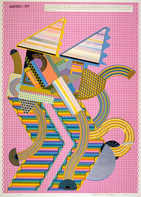 Parrot (from the portfolio 'As is When') Poster Art Print by Eduardo Paolozzi