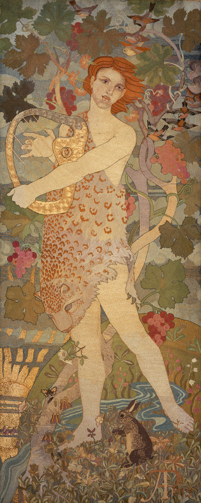 The Progress of a Soul: The Entrance Poster Art Print by Phoebe Anna Traquair