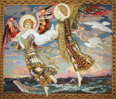 Saint Bride Poster Art Print by John Duncan