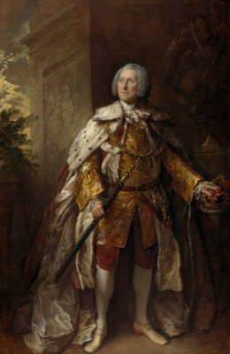 John Campbell, 4th Duke of Argyll, about 1693 - 1770. Soldier Poster Art Print by Thomas Gainsborough