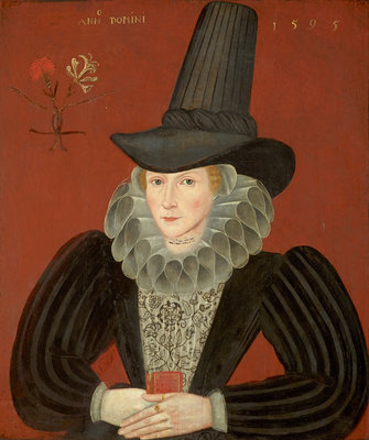 Esther Inglis, 1571 - 1624. Calligrapher and miniaturist Poster Art Print by unknown