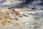 Fine Art Print of The Storm by William McTaggart