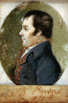 Robert Burns, 1759 - 1796. Poet Poster Art Print by Count Girolamo Nerli