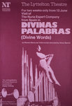 Divinas Palabras Poster Art Print by Anonymous