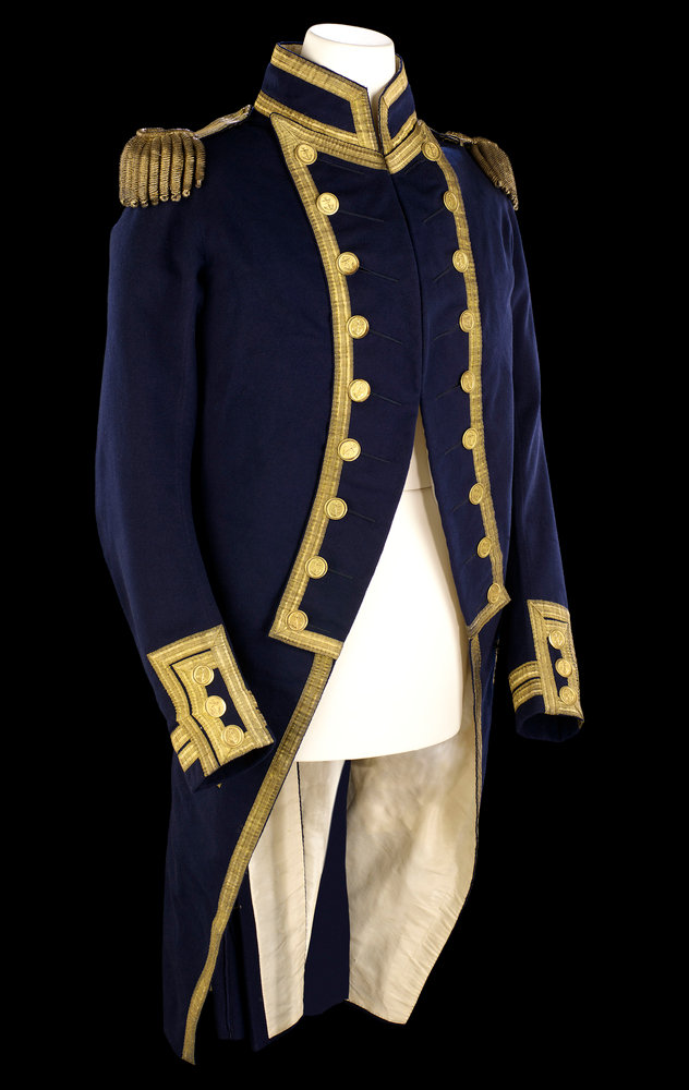Royal Naval uniform: pattern 1795-1812 by Firmin
