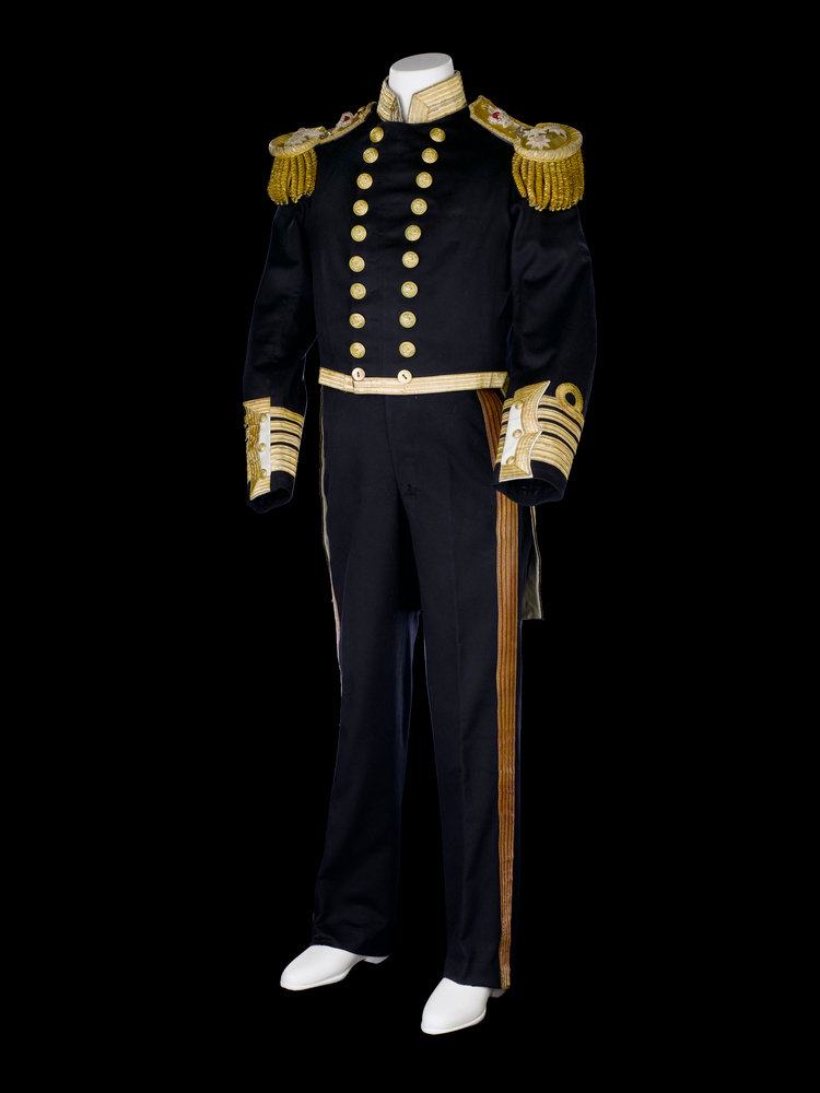 Full dress uniform  Royal Naval uniform  pattern 1856 by Jennens    Navy Full Dress Uniform Enlisted
