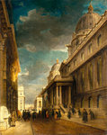 Greenwich Hospital by James Holland - print