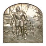 Medal commemorating the Maritime Installations, Brussels; reverse by G. Devreesa - print