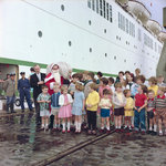 Christmas aboard the 'Empress of England' by Marine Photo Service - print