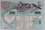 Plan of Gibraltar Poster Art Print by Romeyn de Hooghe