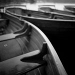 Fine Art Print of Rowing Boats, Dedham Vale, 2010 by Paul Cooklin