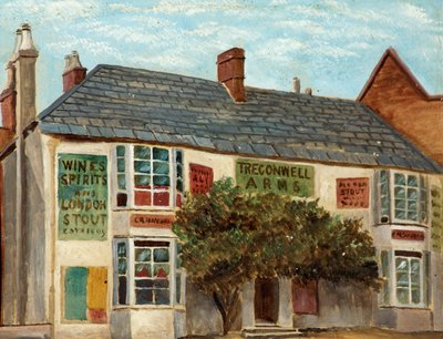 Tregonwell Arms, Bournemouth by British School - print