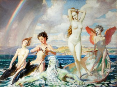 The Birth of Venus by George Spencer Watson - print