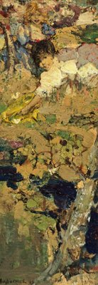 Cherubs by Edward Atkinson Hornel - print
