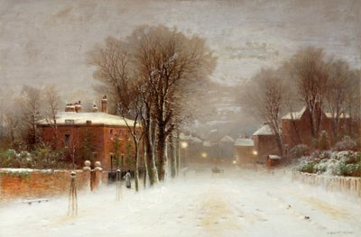 Winter Scene, Hampstead Heath by Robert Finlay Mcintyre - print
