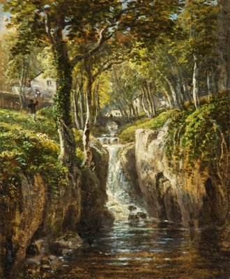 Lower Cascade, Rydal Peak by James Baker Pyne - print