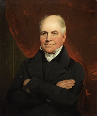 Sir Benjamin Cotes Esq (1775–1855) of Tettenhall, Staffs by British School - print