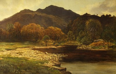 In the Trossachs by James Alfred Aitken - print