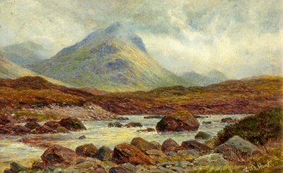 Marscow, Glen Strachen, Skye by Louis Bosworth Hurt - print