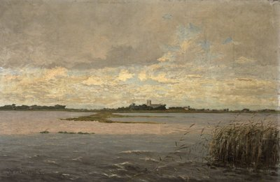 Christchurch Harbour by William Pitcairn Knowles - print