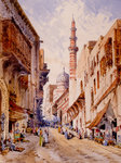 Middle Eastern Scene by Carrelli - print