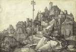 St. Anthony the Hermit by Albrecht Durer - print