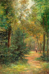 Talbot Woods, Bournemouth, 1897 by G. Penton Fisher - print
